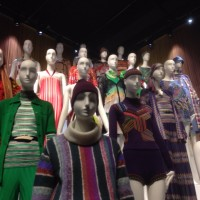 The exhibition is the first of Missoni's textiles in the UK.
