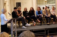 Q&A's with experts helped students understand more about the UK textile industry