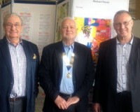 Stephen Sheard with Barry Whitaker and Malcolm Jarvis