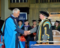 Kaffe Fassett Awarded Honorary Doctorate of the University of Huddersfield