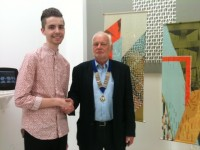 Daniel Matthews - Winner of the Print prize