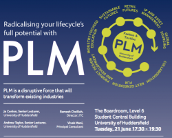 Product Lifecycle Management Event At Huddersfield University